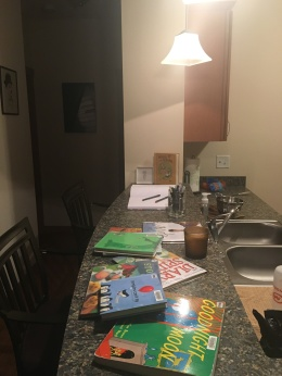 writing station #1