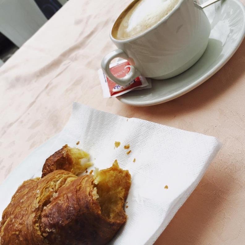 Breakfast on Lake Como